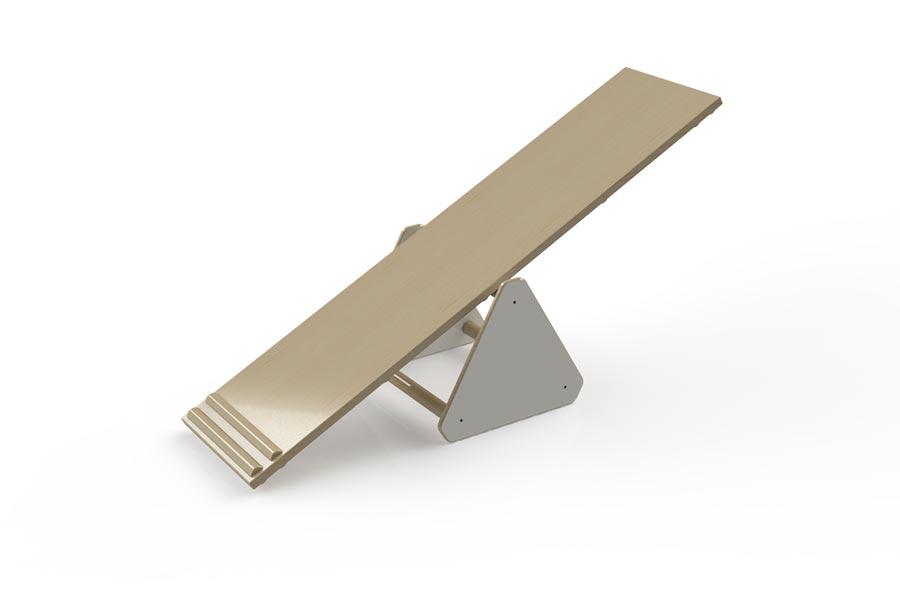 mini pikler triangle  u2013 for walking seesaw